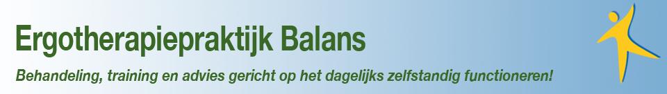 Ergotherapie Balans