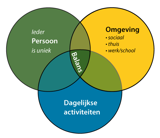 PEO-model ergotherapie